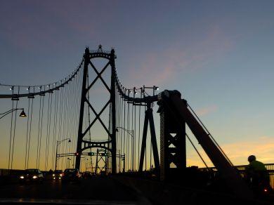 liongate bridge vancouver canada december 2014