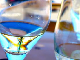 wakame wine glass