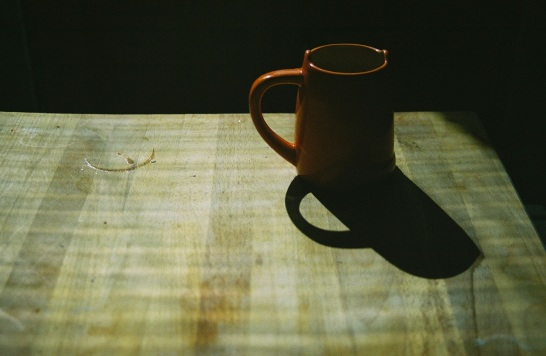 17 mug on cutting board pentax k1000