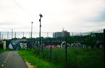 13 washington dc pentax k1000 metro branch trail pow wow mural