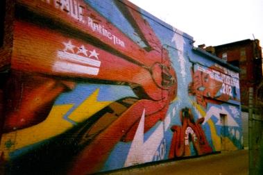 20 washington dc mural