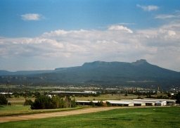 22 rock formation visible from rest area 20 miles from new mexico border colorado pentax k1000