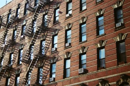 27 new york city fire escapes pentax k1000