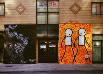 29 new york city street art pentax k1000