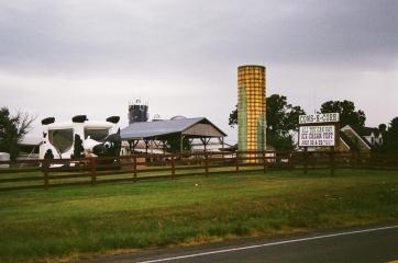 48 route 28 virginia corn silo cow bounce house pentax k1000
