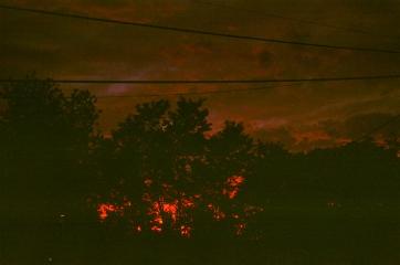 49 charlottesville sunset underexposed pentax k1000