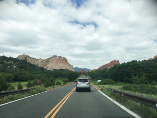 37 driving into garden of the gods